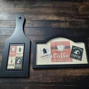 Coffee/Cafe Wall Decor Signs